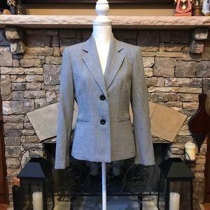 NWOT Kasper Gray Blazer Suit Jacket Size 6